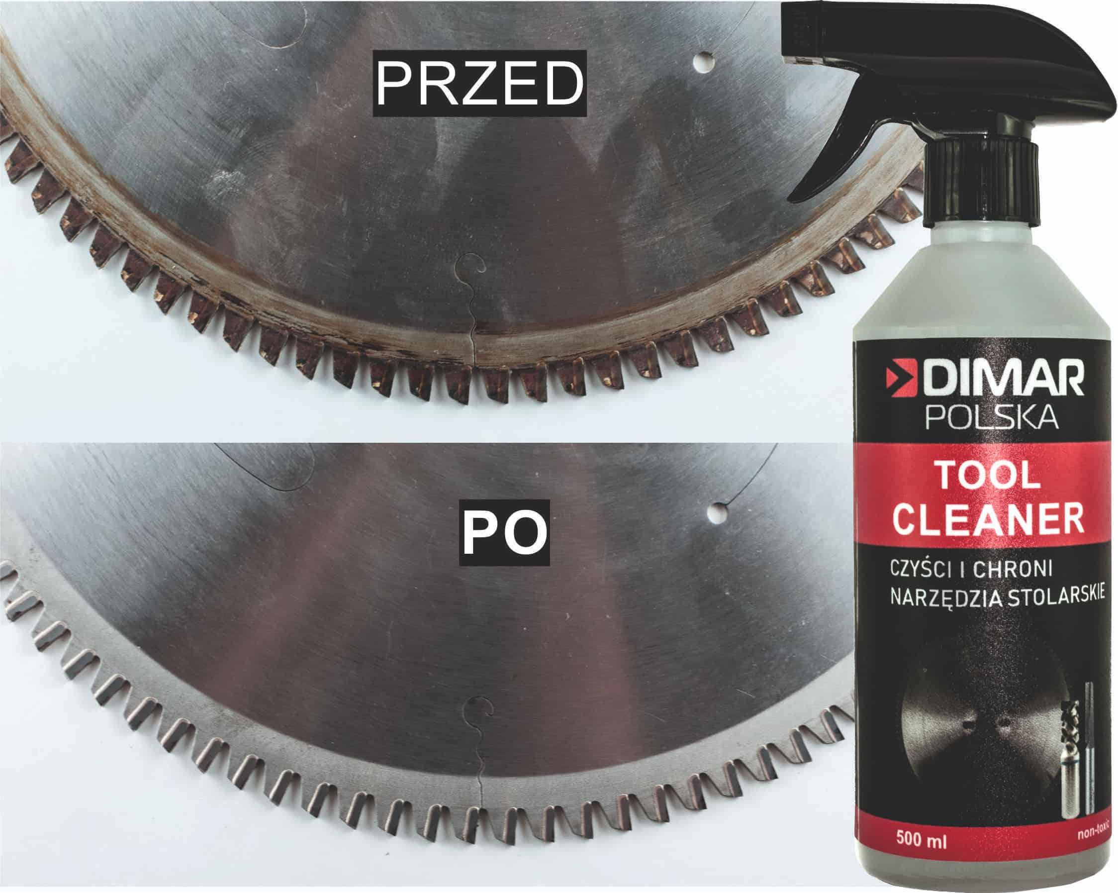 przed i po czyszczeniu